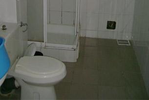 Туалет базы отдыха «Дюны золотые»