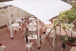 Двор гостевого дома «Алые паруса»