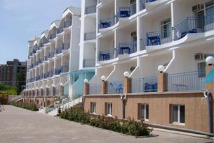 Корпус гостиницы «Агат»