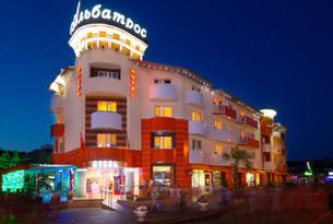 Корпус гостиницы «Альбатрос»