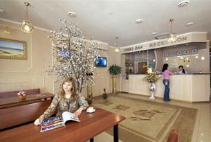 Ресепшн гостиницы «Альбатрос»
