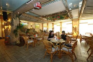 Кафе гостиницы «Альбатрос»