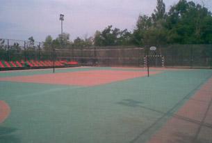 Спортивная площадка лагеря «Счастливое детство»
