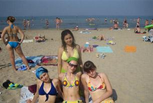 Пляж лагеря «Счастливое детство»