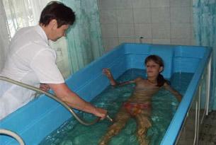 Медицинские процедуры в лагере «Золотой берег»