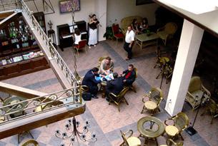 Гостиная отеля «Ривьера»