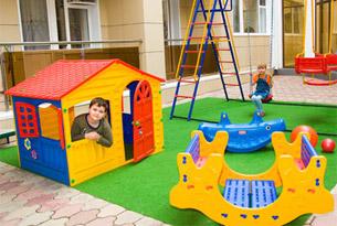 Детская площадка санатория «Надежда»